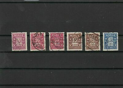 norway stamps ref 16689