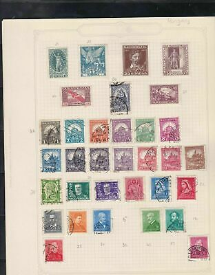 hungary stamps page ref 17387