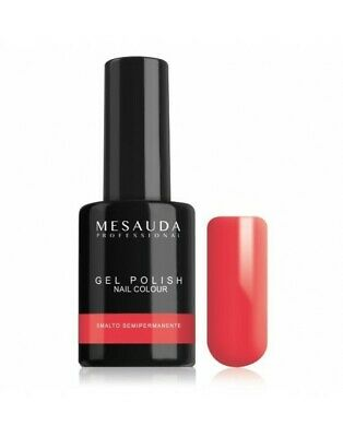 Mesauda Semipermanente Gel Polish Nail Colour 142 Coral For Two 10Ml