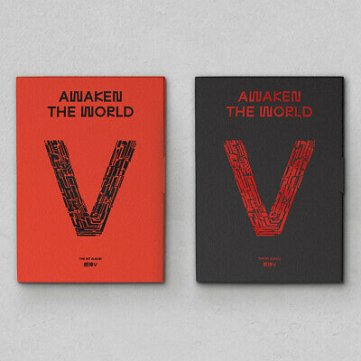 WAYV [AWAKEN THE WORLD] 1st Album CD+Photo Book+Fold Poster+2p Card K-POP SEALED