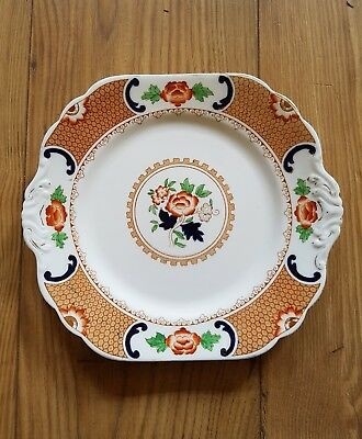 """●●Vintage New Chelsea Majestic China/Sandwich Cake Plate  """"Free Postage"""""""