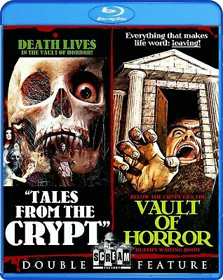 Tales From The Crypt & Vault Of Horror ,Uncut, Blu-Ray , Shout Factory ,Region A
