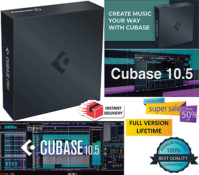 Steinberg Cubase Pro 10.5 🎵Next Generation DAW🔑Lifetime License🔥Full Version