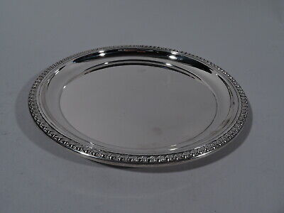 Cartier Tray - Georgian Style Round - 8 Dia - American Sterling Silver
