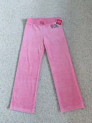 juicy couture tracksuit Jogger Pants bottoms Age 6/7 New