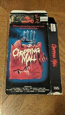 Chopping Mall Vhs Box Only No Tape See Description Horror Lightning Video