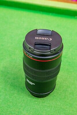 Canon EF 100mm F2.8l Macro Is USM Lens - Used one.