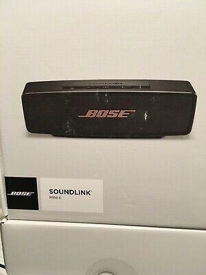 BOSE SOUNDLINK MINI II  blootooth speaker