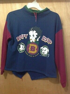 Betty Boop Sweater. Size S/M.