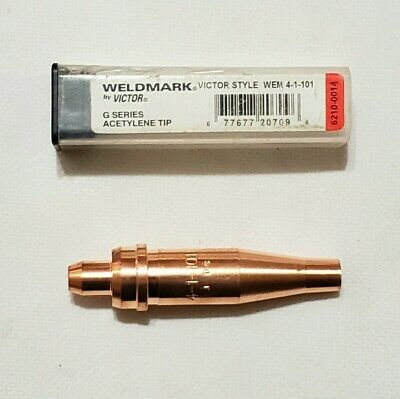 #0-5 Tips Victor Type 100 Series 3-101 Oxygen//Acetylene Cutting Torch Tips