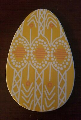 Happy Everything retired  Yellow Easter Egg Large Coton Colors Attachment