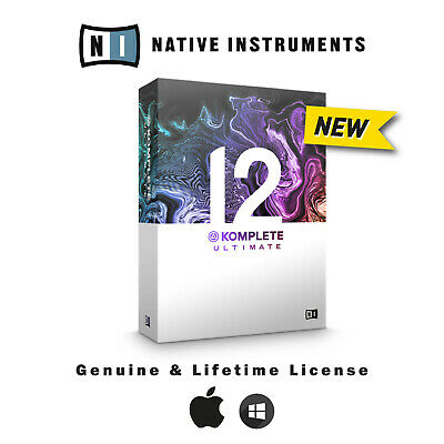 Native Instruments KOMPLETE 12 Ultimate ✔️ Mac & Windows ✔️ GENUINE LICENSE