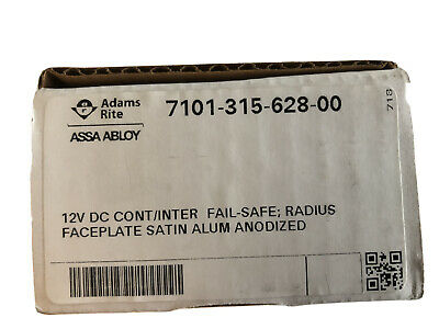 Adams Rite 7101 Electric Release 12vDC F/U (7101-315-628 For Double Doors)