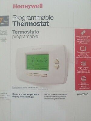 Honeywell RTH7500D1007 7-Day Universal Programmable Thermostat