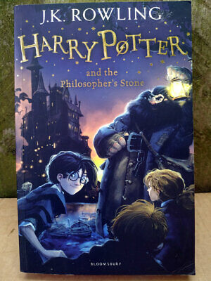 Harry Potter and the Philosopher's Stone Paperback Book 2014 1st Ed JK Rowling 1
