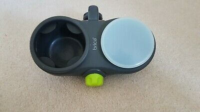 Brica drink cup and snack holder universal