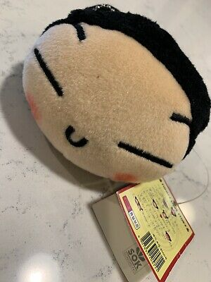 NEW RARE Plush PUCCA Zippered Pencil Coin Pouch Bag ANIME Garu