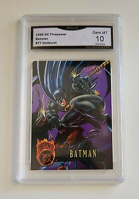 1996 DC Outburst Firepower Batman GMA 10 Gem Mint