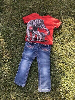 Vivian Westwood Comic Relief T-shirt Unisex, Marks & Spencer Girls Jeans Age 3/4