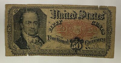 50 Cents United States Fractional Currency