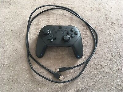 Nintendo Switch Official Pro Controller + Wire Beautiful Condition