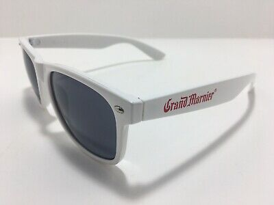 Authentic Licensed Grand Marnier Sunglasses White with Red Logo - New!!