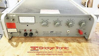 Power Designs 1570 High-Voltage DC Power Source