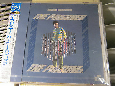 "Herbie Hancock ""The Prisoner"" -  Blue Note CD Japan Edition 20bit"