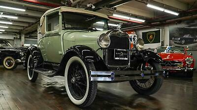 1928 Ford Model A  Green Ford Model A with 1,922 Miles available now!