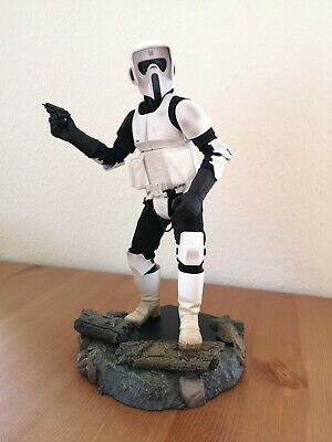Sideshow Star Wars Scout Trooper no Hot Toys