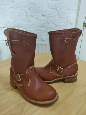 Chippewa Engineer Motorcycle Boots RRP £300 Like Red Wing