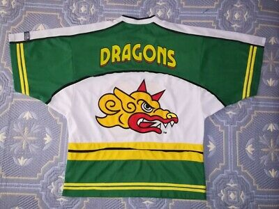 BARCELONA DRAGONS NFL EUROPE American Football Vintage T-shirt Rugby Camiseta
