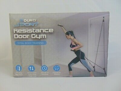 Resistance Door Gym Total Body Training Exercise NEW Fits Any Door USA Seller