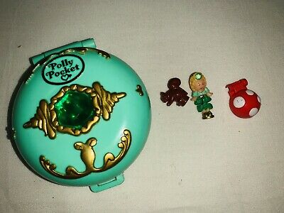 Vintage Bluebird 1992 Polly Pocket Woodland Realm/Emerald Paradise COMPLETE
