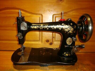 1887 Singer Sewing Machine Head Model Vs-2 Fiddlebase, Collector, Serviced
