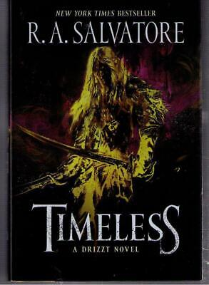 NEW ! Timeless Drizzt Fantasy Novel by R.A. Salvatore hardcover