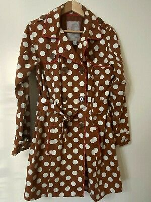 Next Older Girl's Brown Polka Dot Jacket Age 15-16 Years