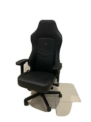 Noble Hero Gaming Chair Real Leather Black