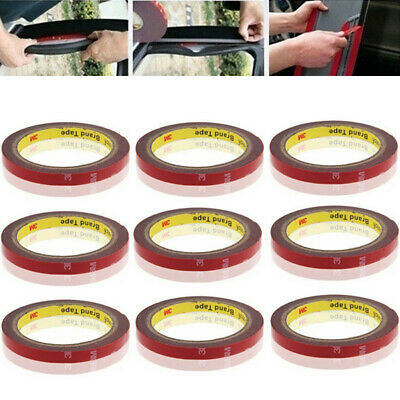 3M Strong Permanent Double Sided Adhesive Glue Tape Super Sticky for Car LED US