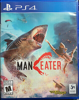 MANEATER - Playstation 4 Game, PS4 Game!!! Bought New, Played Once