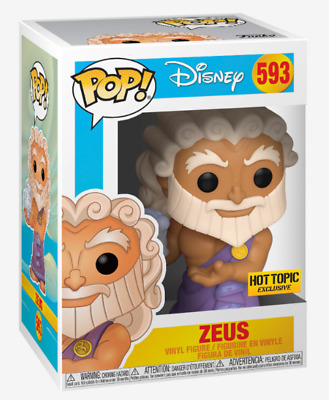 Funko POP! Disney Hercules Zeus Holding Pegasus Hot Topic Exclusive #593 Presale