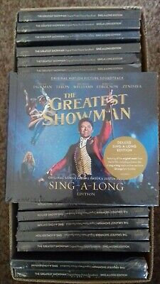 25 X The Greatest Showman Soundtrack Sing A Long  - Cd - New - Joblot