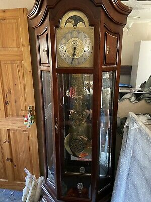 Hermle Grandfather Clock Good Condition Open To Sensible Offers