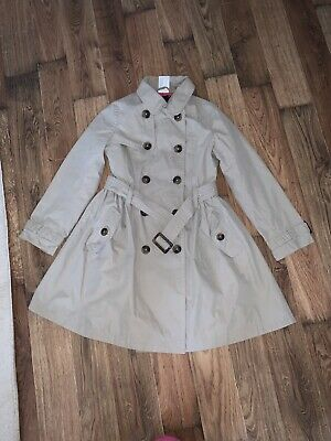 Girls Outerwear Collection Trench Coat 6/7yrs old