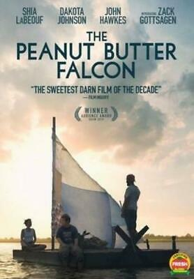 PEANUT BUTTER FALCON (Region 1 DVD,US Import,sealed.)