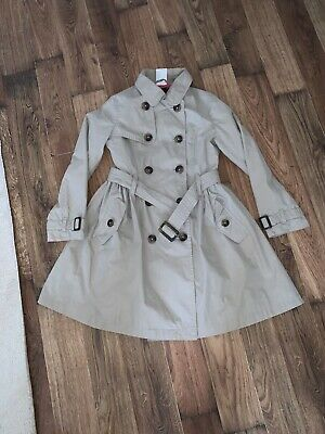 John Lewis Girls  Outerwear Collection Trench Coat 6/7yrs old