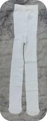 COSY age 0-6 MTHS  Girls White Super-Soft warm Cotton rich Tights bnwt EX-STORE