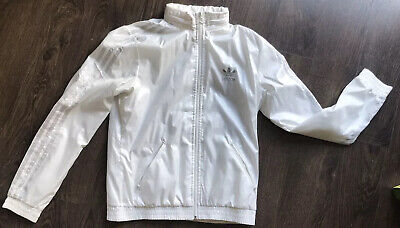 Womans Girls adidas tracksuit Top Thin Size S