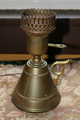 Antique/Vintage Brass Lamp No Shade