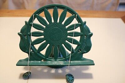 Cast Iron Book Stand (Green)